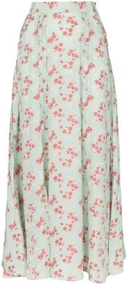 N. Duo Hamptons floral print maxi skirt