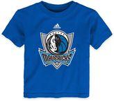 NBA Dallas Mavericks Short Sleeve Shirt in Blue