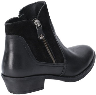 Hush Puppies Isla Ankle Boots - Black