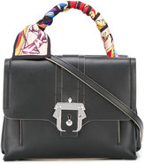 Paula Cademartori Petite Faye tote bag - women - Silk/Calf Leather/metal - One Size