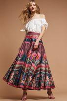 Anthropologie Austrella Full Maxi Skirt