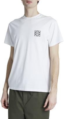 Loewe Men's Anagram T-Shirt