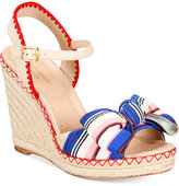 Kate Spade Jane Bow Wedge Sandals Women's Shoes