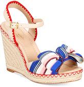 Kate Spade Jane Bow Wedge Sandals