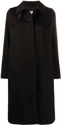 MACKINTOSH Dunkeld single-breasted wool coat