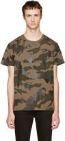 Valentino Khaki Camo T-shirt