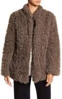 PJ Salvage Open Faux Fur Cardigan