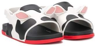 Mini Melissa cow sandals