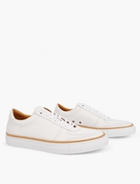 Number 288 White Grand Low Basketball Sneakers