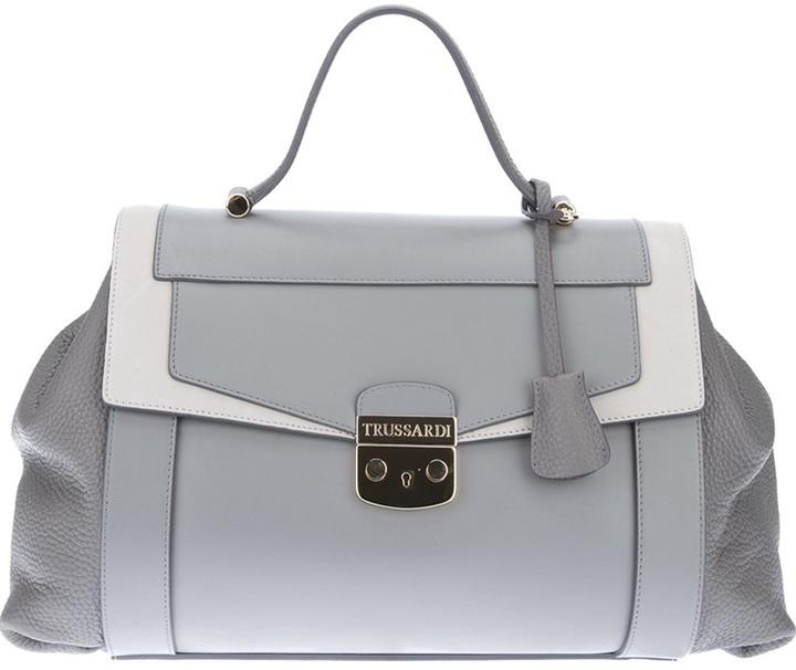Trussardi medium satchel tote