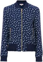 MICHAEL Michael Kors floral bomber jacket