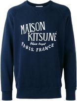 MAISON KITSUNÉ 'palais royal' pattern jumper