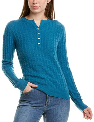 Portolano Cable Wool & Cashmere-Blend Sweater