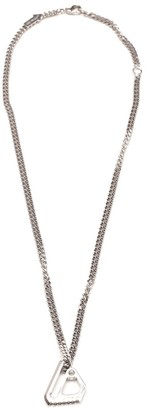 Off-White Mechanic Pendant Necklace