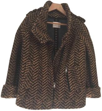 Gas Jeans Camel Coat for Women