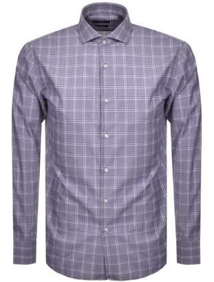 HUGO BOSS Boss Business Slim Fit Jason Shirt Purple