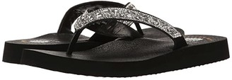 Yellow Box Orchid (Clear) Women's Sandals