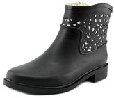 Chooka Deco Laser Cut Bootie Round Toe Synthetic Bootie.