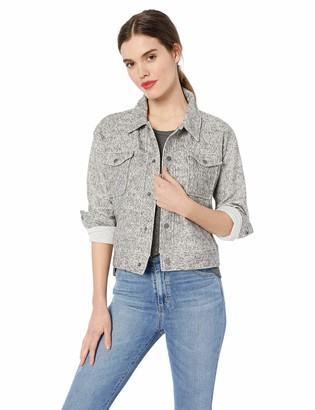 Cupcakes And Cashmere Women's Bridgette Marled Knit Workman Jacket