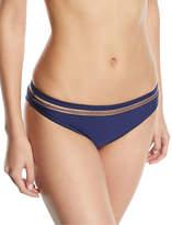 Tularosa Veda Solid Swim Bikini Bottoms w/ Whipstitch Trim