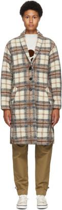 Etoile Isabel Marant Beige Wool Gabriel Blanket Coat