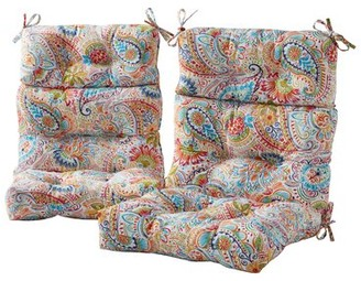 Bungalow Rose Outdoor Seat/Back Cushion Fabric: Multicolor