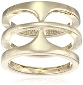 Vince Camuto Basic Gold T-Ring, Size 7