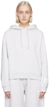 alexanderwang.t Grey Foundation Terry Hoodie