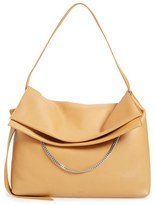 AllSaints 'Large Lafayette' Leather Shoulder Bag - Brown