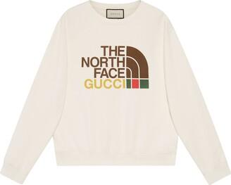Gucci The North Face x cotton sweatshirt