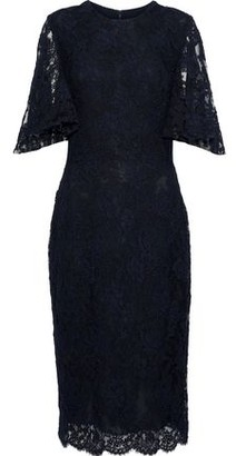 Reem Acra Corded Lace Dress