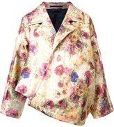 Comme des Garcons floral print oversized jacket