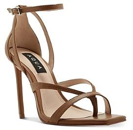 Aqua Women's Luanda Strappy High-Heel Sandals - 100% Exclusive