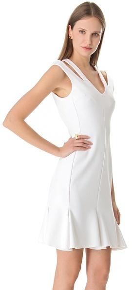 Josh Goot Cutout Flared Dress