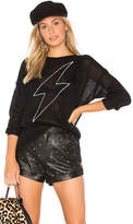 Sundry Bolt Loose Knit Sweater in Black. - size 0 / XS (also in 1 / S,2 / M,3 / L)
