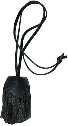 Yohji Yamamoto Navy Leather Bag charms
