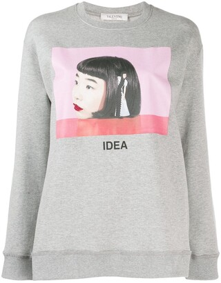 Valentino Izumi Miyazaki print sweatshirt