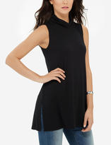 The Limited Sleeveless Turtleneck Swing Tunic
