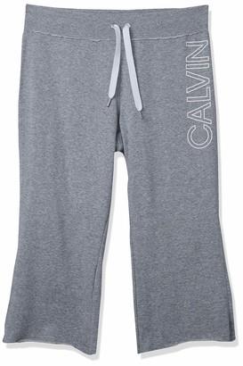 Calvin Klein Women's Premium Performance Cropped Comfort Stretch Pant