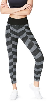 Active Wear Activewear High Waisted Chevron Seamless Sports Leggings