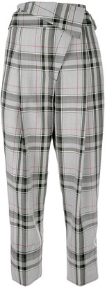 3.1 Phillip Lim Plaid Tapered Trousers