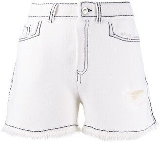 Barrie Contrast Stitch Shorts