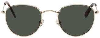Han Kjobenhavn Gold Cloud Sunglasses