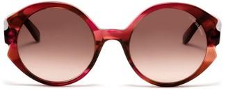 Oliver Goldsmith Sunglasses Circle Line 1970 Tulip