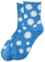 Kate Spade Daisy Rolled Ankle Socks