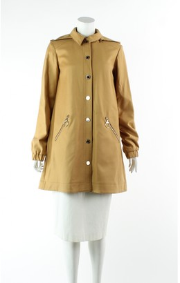 Mulberry Camel Wool Trench coats