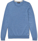HUGO BOSS Leno Virgin Wool Sweater