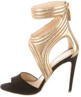 Jerome C. Rousseau Multistrap Leather Sandals