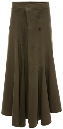 J.W.Anderson Flared Wrap Skirt