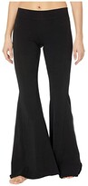 Hard Tail Hippie Chick Flare Pants (Black) Women's Casual Pants